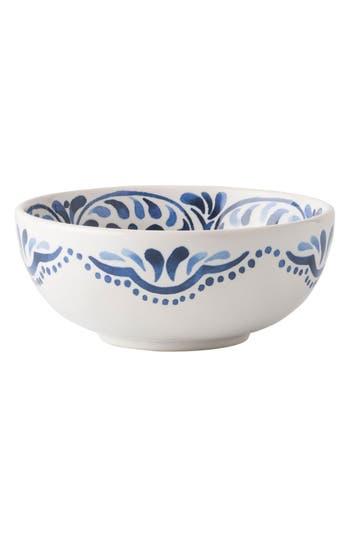Juliska Wanderlust Collection - Iberian Journey Ceramic Cereal Bowl, Size One Size - Blue