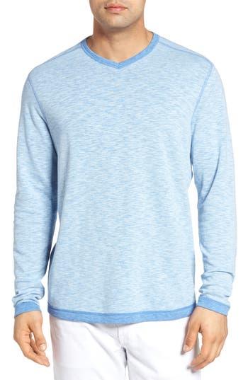 Tommy Bahama Seaglass Reversible T-Shirt,  Blue