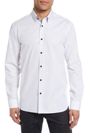 Men's Ted Baker London Arkells Modern Slim Fit Print Sport Shirt