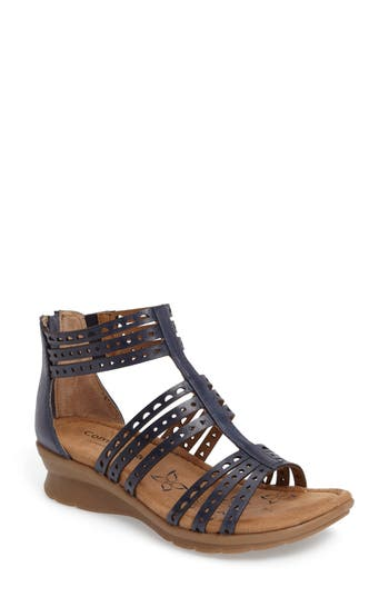 Comfortiva Kaelin Wedge Sandal W - Blue