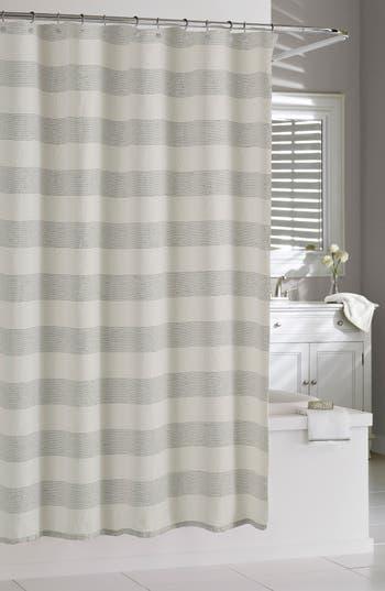 Kassatex Amagansett Shower Curtain, Size One Size - Ivory