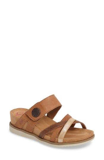 Comfortiva Lexa Slide Sandal- Brown