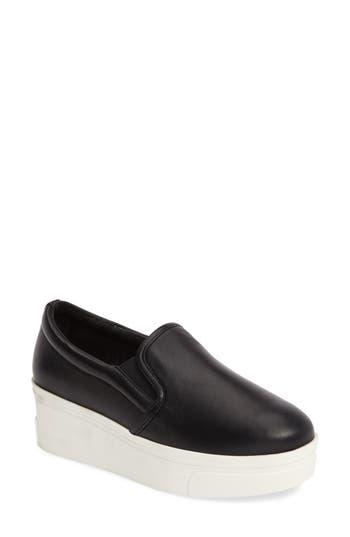 Jslides Genna Slip-On Sneaker, Black