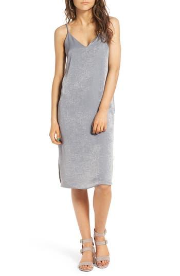 Women's Soprano Satin Slipdress, Size X-Small - Grey