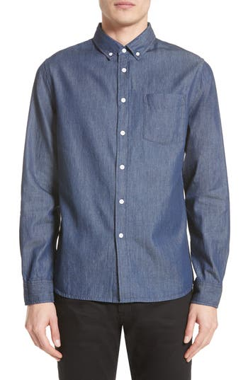 Saturdays NYC Crosby Denim Slim Fit Sport Shirt