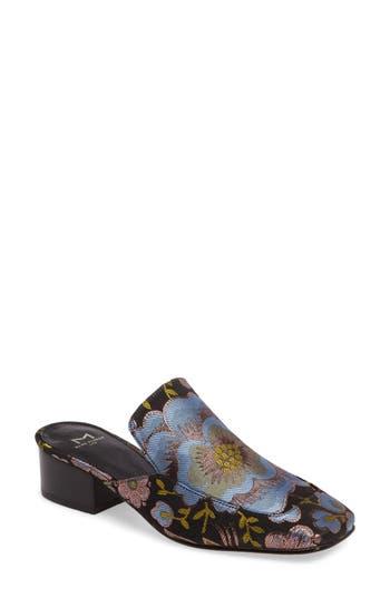 Women's Marc Fisher Ltd Lailey Block Heel Mule, Size 8.5 M - Black