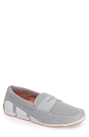 Swims Breeze Penny Loafer, Grey