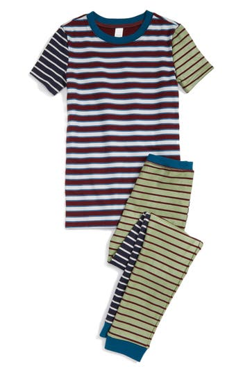 Boy's Tucker + Tate Fitted Two-Piece Pajamas
