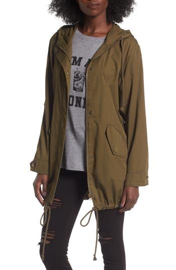 Women's Bp. Hooded Cotton Anorak
