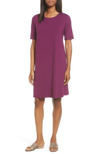 Women's Eileen Fisher Jersey A-Line Dress