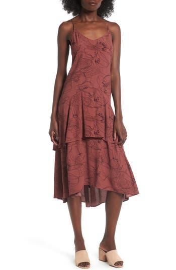 Leith Tiered Midi Dress