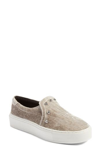 Rebecca Minkoff Noelle Slip-On Platform Sneaker, Grey