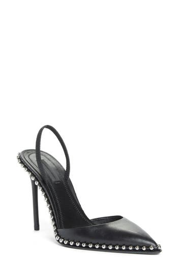 Alexander Wang Rina Beaded Pump, Black