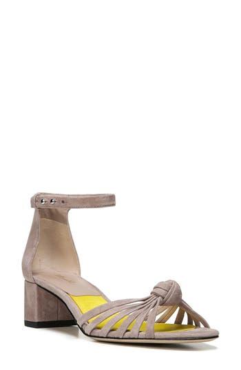Diane Von Furstenberg Fonseca Ankle Strap Sandal- Beige