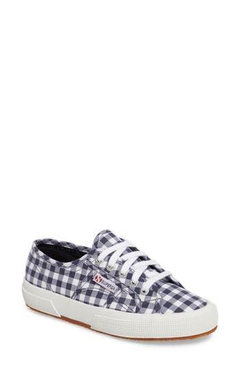 Superga 2750 Calico Sneaker, Blue