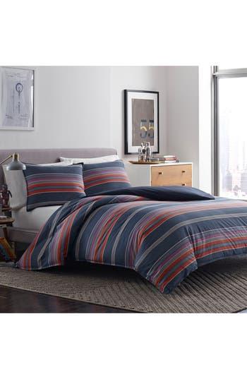 Original Penguin Owen Comforter & Sham Set, Size Twin - Blue