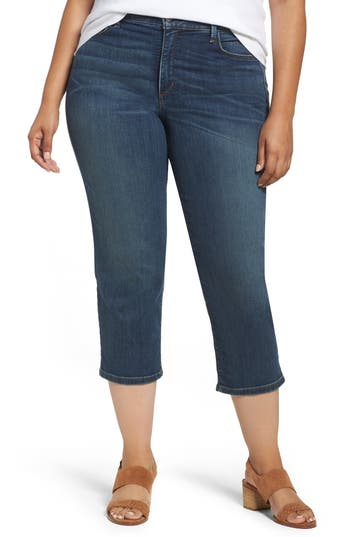 Plus Size Women's Nydj Marilyn Stretch Capri Jeans