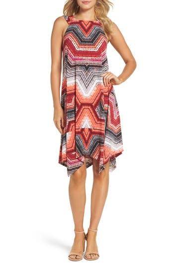 Maggy London Shift Dress, Red