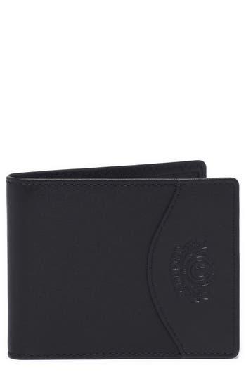 Ghurka Leather Money Clip Wallet - Black