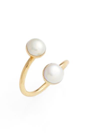 Women's Elise M. Arabesque Semiprecious Stone Adjustable Ring