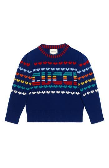 Girls Gucci Intarsia Sweater