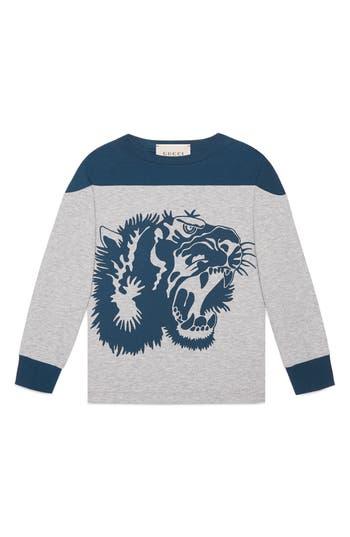 Boy's Gucci L'Aveugle Par Amour Graphic Sweatshirt