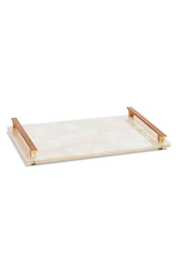 Kendra Scott Stone Slab Tray, Size One Size - White
