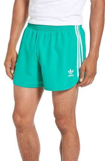 Men's Adidas Originals Fb Running Shorts, Size XX-Large - Green