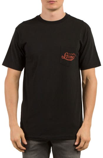 Volcom Strike Graphic T-Shirt, Black