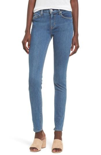 Hudson Jeans Nico Shredded Skinny Jeans, 3 - Blue
