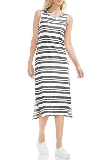 Two By Vince Camuto Jacquard Stripe Tank Dress