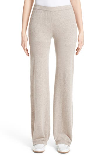 Max Mara Novara Wool & Cashmere Knit Pants, Brown
