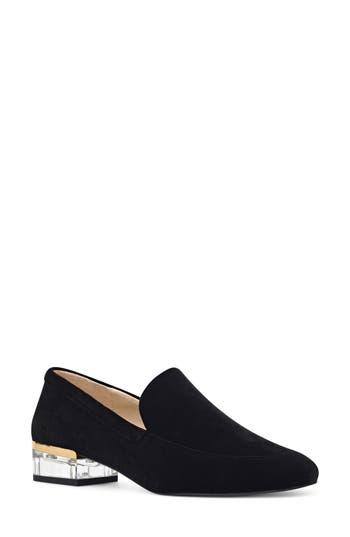 Women's Nine West Umissit Clear Heel Loafer