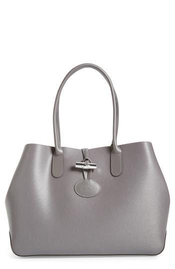 Longchamp Roseau Leather Shoulder Tote -