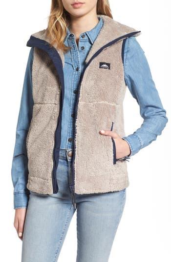 Women's Penfield Fleece Vest, Size X-Small - Beige