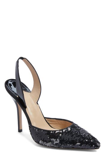 Paul Andrew Passion Slingback Pump, Black