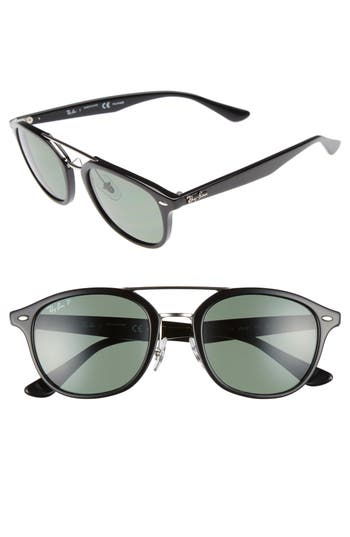 Ray-Ban 5m Polarized Sunglasses - Black