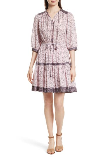 La Vie Rebecca Taylor Petit Mirande Dress, Burgundy
