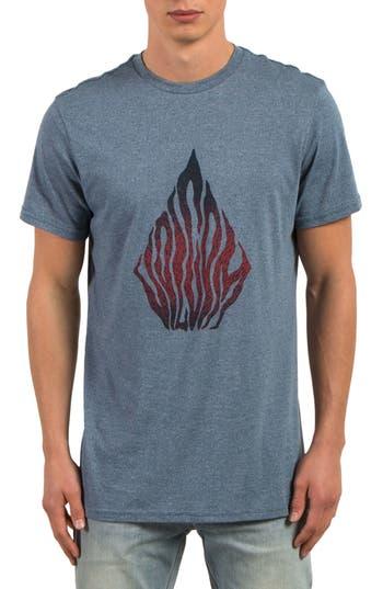 Volcom Blooms Day T-Shirt, Blue