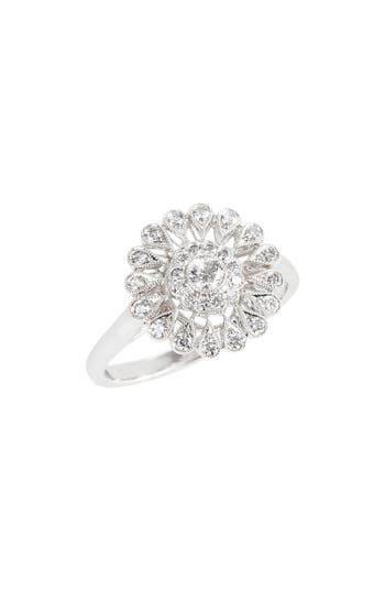 Women's Kwiat Vintage Flower Diamond Ring