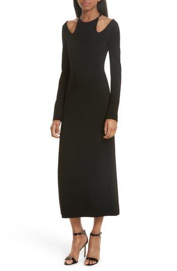 A.l.c. Jessa Cutout Midi Dress, Black