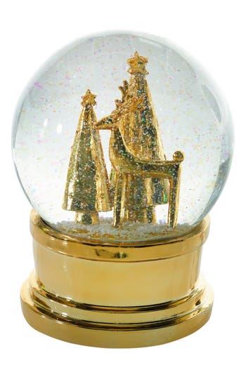 Accent Decor Snow Globe, Size Large - Metallic