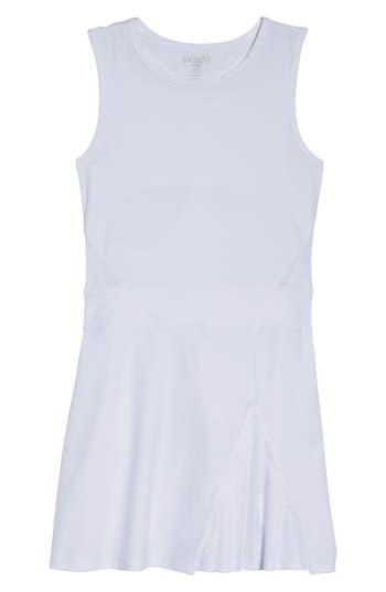 Boomboom Athletica Tennis Dress & Shorts, White