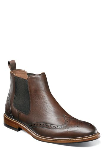 Florsheim Sheffield Chelsea Boot, Brown