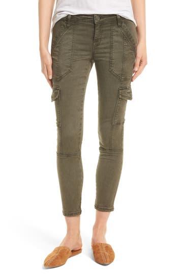 Joie Okana Skinny Cargo Pants, Green