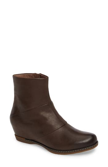 Dansko Lettie Wedge Bootie - None