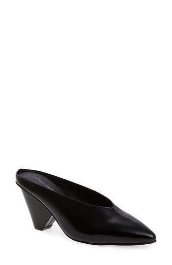 Jeffrey Campbell Polite Pointy Mule- Black