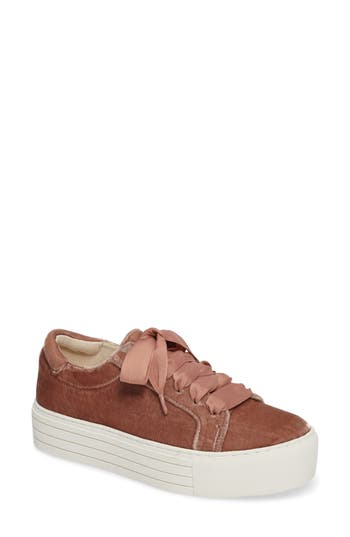 Kenneth Cole New York Abbey Platform Sneaker- Pink