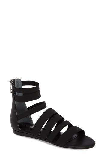 Charles By Charles David Maide Elastic Gladiator Sandal- Black