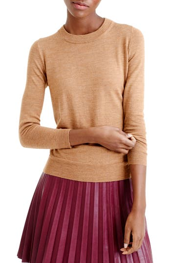 J.crew Tippi Merino Wool Sweater, Brown